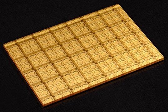 24K Gold Metallbeschichtung auf Glas - SEEN AG
