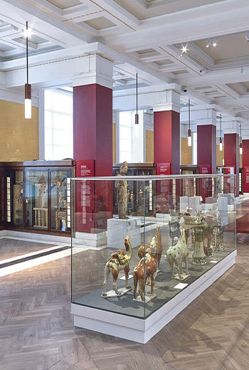 British Museum Lampen mit Dünnstein SEEN AG