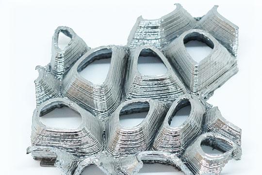 3D Druck mit Aluminium Beschichtung