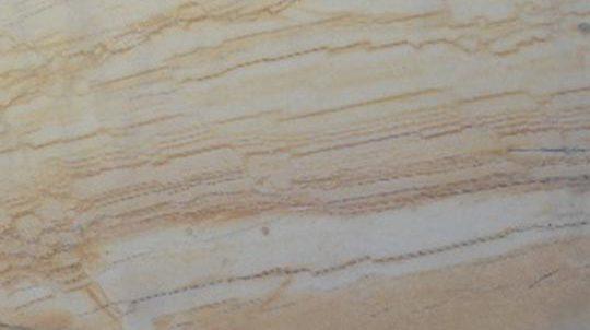 Golden Macaubas Veincut 20mm Massivsteinplatte - SEEN AG