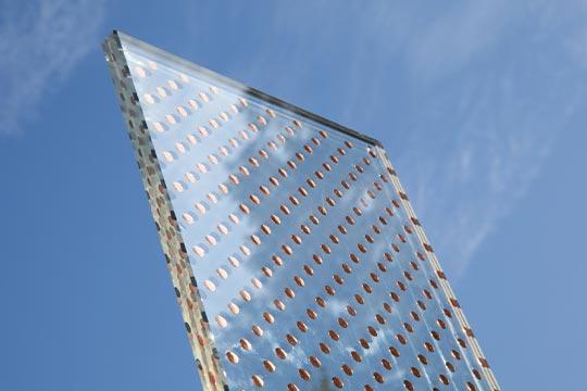 SEEN Elements - Nachstellung von Kupfer zwischen Glas