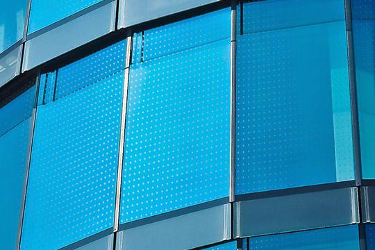 Vogelschutz Glasfassade SEEN Elements
